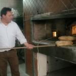 Il forno dell'azienda ed il pane Canestrella