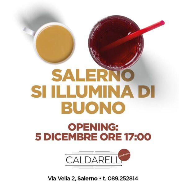"""Caldarelli e il suo """"Dolce e salato"""" debuttano a Salerno il 5 dicembre"""