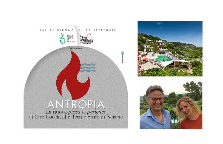 Antropia. La nuova pizzeria di Ciro Coccia alle Stufe di Nerone