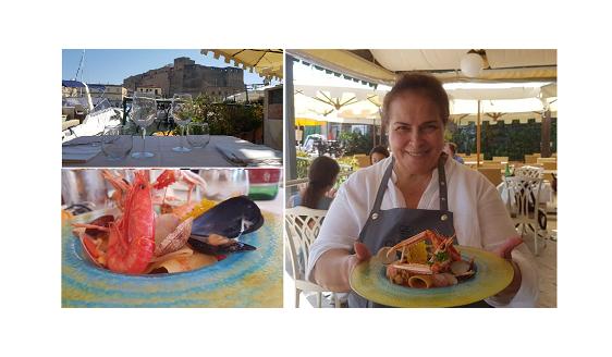 Da Zi Teresa con la Chef Carmela Abbate. Un viaggio tra i sapori Mediterranei