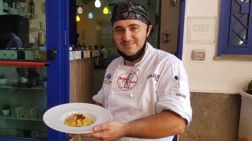 Enzo Pirone. Uno chef dal cuore grande. La sua cucina ed i sapori Mediterranei di una cucina generosa e salutare.