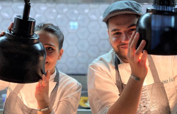 A Pompei la cucina innovativa del Cosmo Restaurant