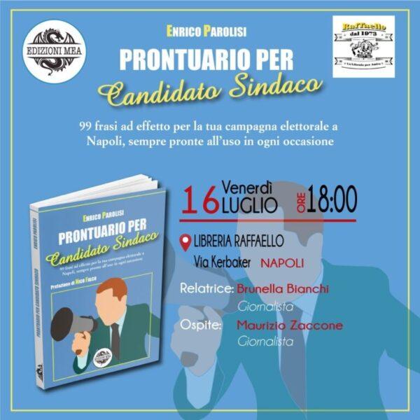 """Prontuario per candidato sindaco"", l'irriverente libro del napoletano Parolisi"
